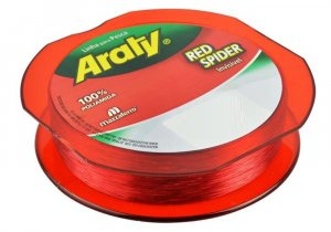 Linha Red Spider Fio 0,45mm 100mts