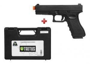 Pistola Airsoft Gbb Double Bell G17 Semi Metal Cal 6,0mm